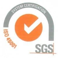 ISO 45001 Certified